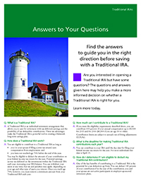 Traditional IRA Answers to Your Questions